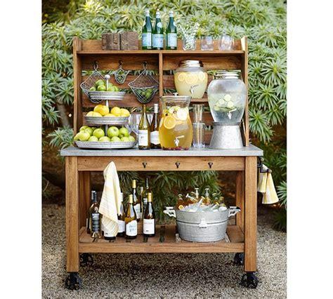 25 best ideas about outdoor bar cart on