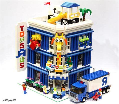 Lego Moc Toys'r'us Als Modular Building Zusammengebaut