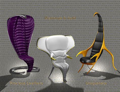 exotic animal inspired furniture  wild design captivatist