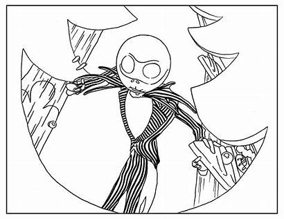 Christmas Coloring Adult Nightmare Before Pages Posters