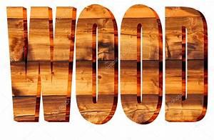 The word wood written — Stock Photo © mountainpix #59823051
