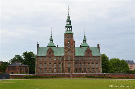 Treasure Gawking At Rosenborg Castle Denmark