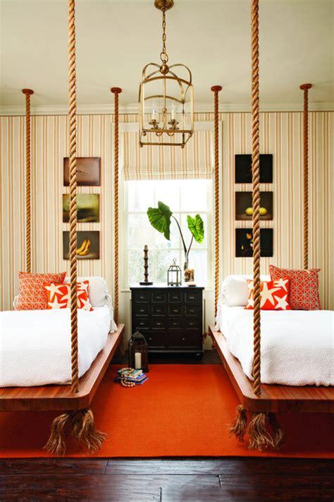 hanging beds hanging beds in kids rooms design dazzle