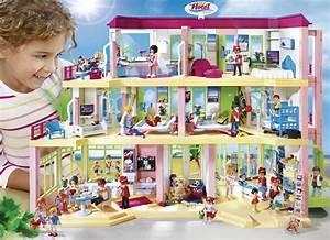 Playmobil 5265 Summer Fun Large Furnished Hotel: Amazon co