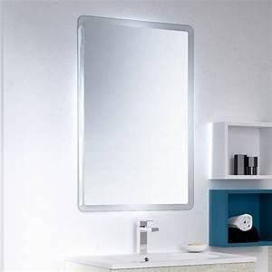 Miroir Étagère Salle De Bain : miroir salle de bain clairage led miroir lumineux discac ~ Melissatoandfro.com Idées de Décoration