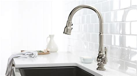 kohler black kitchen faucets artifacts collection kohler