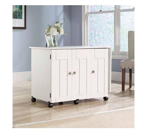 sauder sewing craft table cabinet storage sewing machine table craft storage cabinet sauder desk tv