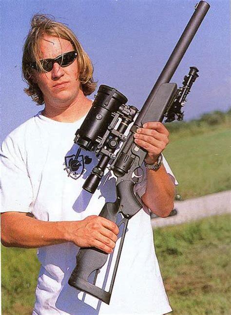 KAC Silenced Revolver Rifle - Mythic Armory