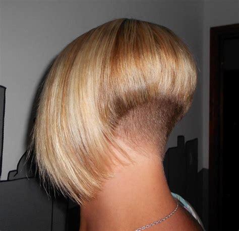 clippered nape bob haircuts  black women haarminnaar