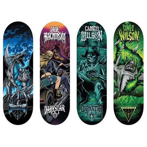 spin master tech deck 96mm fingerboard 4 pack darkstar