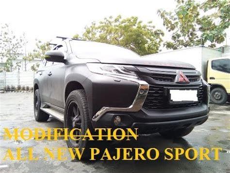Mitsubishi Pajero Sport Modification by All New Pajero Sport Modification Cutting Sticker