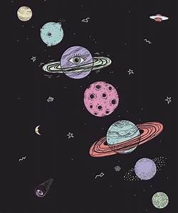 Planets Tumblr Drawing | www.imgkid.com - The Image Kid ...