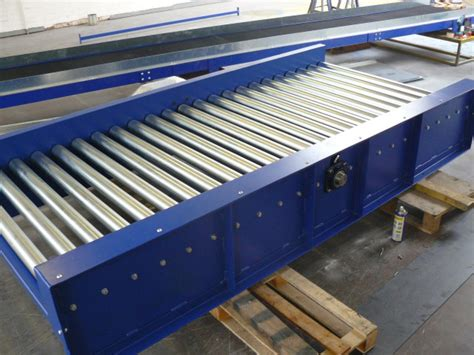 Powered Roller Conveyors (chain Drive) And Conveyor Systems