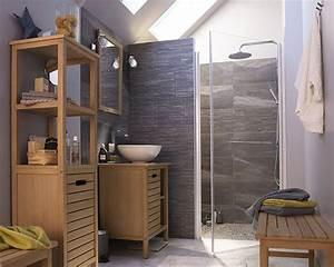 Salle De Bain En L : id e d coration salle de bain castorama meuble de salle de bains tinn des meubles en bois ~ Melissatoandfro.com Idées de Décoration
