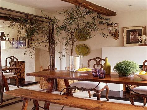 Bloombety  Unique Dining Table Mediterranean Decorating