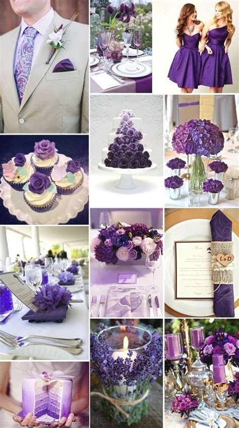 ??2019 Brides Favorite Violet Couleurs de Mariage mariage