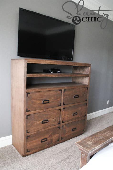 how to build a dresser diy media storage dresser shanty 2 chic