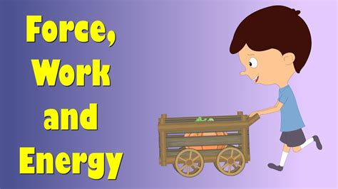 force work and energy aumsum youtube