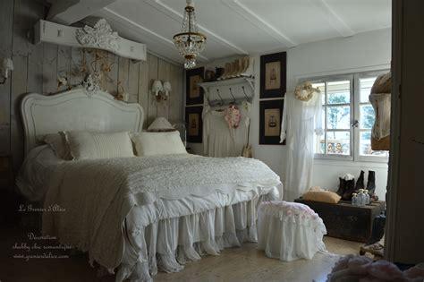 chambre charme une chambre romantique shabby chic le grenier d 39