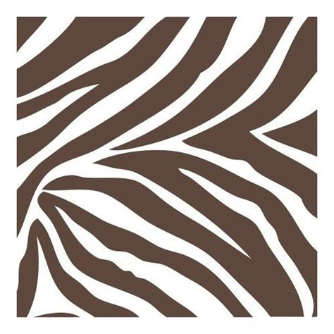 Brown Animal Print Wallpaper - brown and white zebra print wall pop wall border
