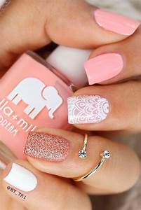 Nail Art Printemps 2018 : u as cortas elegantes para verano yo en 2019 pinterest u as cortas dise os de u as y ~ Dode.kayakingforconservation.com Idées de Décoration