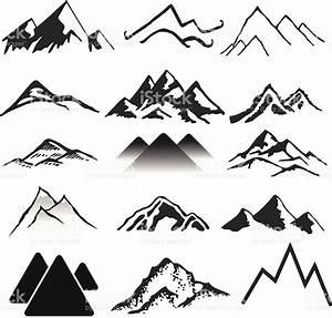 Mountains Stock Vector Art & More Images of Back Lit ...