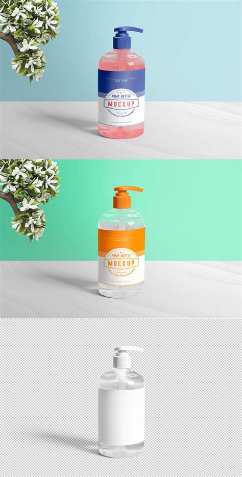 As a free mockup generator software, mediamodifier includes thousands of mockups in various categories. Free Dispenser Pump Bottle Mockup | Mockuptree