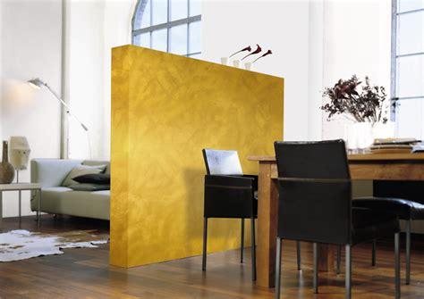 Goldene Wandfarbe Als Edler Hingucker