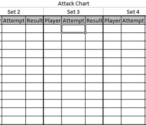 coaching diagramschartsstat sheets coaching volleyball