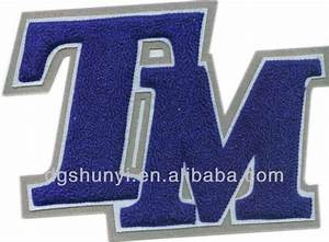 Chenille embroidered varsity letters on jacket buy for Buy varsity letters