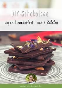 Gesunde Süßigkeiten Selber Machen : vegane schokolade selber machen ohne zucker nur 6 zutaten rezept sugar ah honey honey ~ Frokenaadalensverden.com Haus und Dekorationen