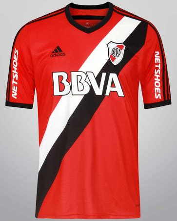 River Plate 14-15 Home and Away Kits - Footy Headlines