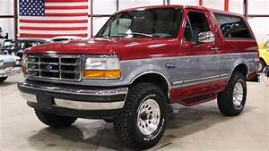 1995 Ford Bronco Red Gray
