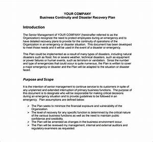 emergency preparedness plan template for business With emergency plan template for businesses