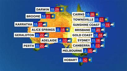 Weather Melbourne Forecast Brisbane Conditions Wet Perth