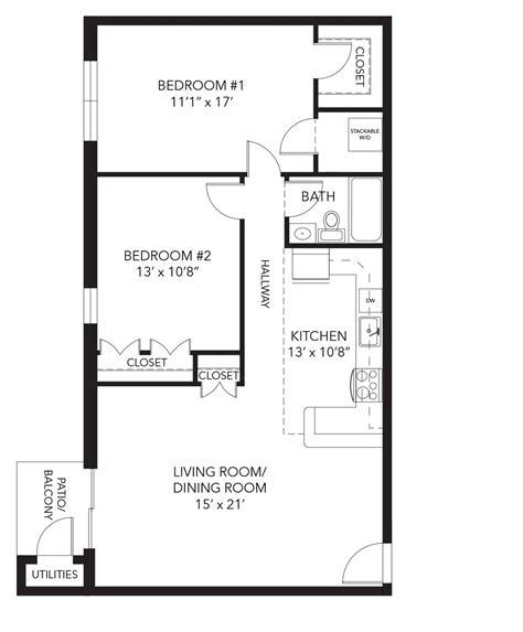 2 Bedroom Floor Plan Layout by Brandywine Floor Plan 2 Bedroom Flat Apartments House