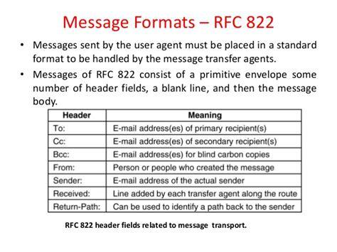 layer application rfc