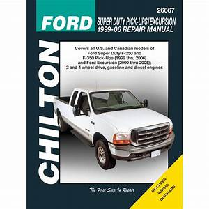 Chilton Repair Manual New F250 Truck F350 E450 Van Econoline E250 26667