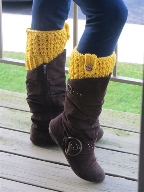 pattern  crochet boot cuffs sell  hotcakes