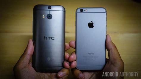 htc one m8 vs iphone 6 iphone 6 vs htc one m8 look