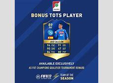 FIFA 17 Serie A TOTS FUT Calcio A Team of the Season