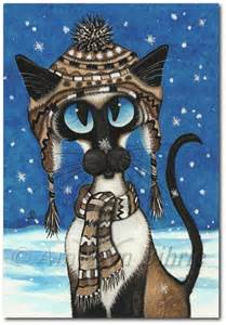 Snowflake Siamese Cat