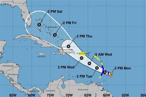 florida    projected path  tropical storm dorian
