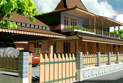 desain rumah tradisional modern  nyaman