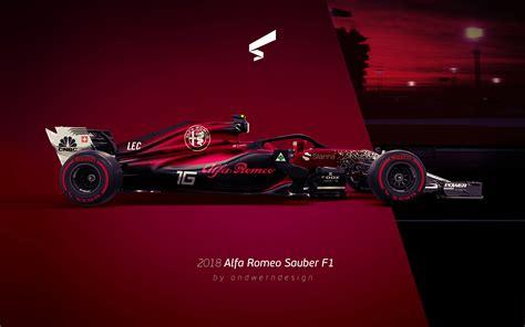 Andwerndesign 2018 Alfa Romeo Sauber F1