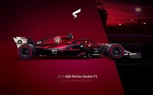 Alfa Romeo F1 : andwerndesign 2018 alfa romeo sauber f1 ~ Medecine-chirurgie-esthetiques.com Avis de Voitures