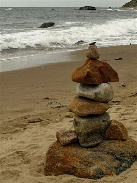 what do you call a stack of rocks day 231 365 stacks of stones on the beach 3 quarters today