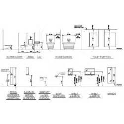 bathroom fixtures mounting heights cad dwg cadblocksfree cad blocks free