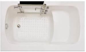 Sitzbadewanne Mit Dusche : sitzbadewanne barrierefreie begehbare badewanne mit t r und massagedusche badshop baushop ~ Frokenaadalensverden.com Haus und Dekorationen
