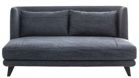 sofibo canapé canapé droit gimme more l 160 cm 2 places bleu jean